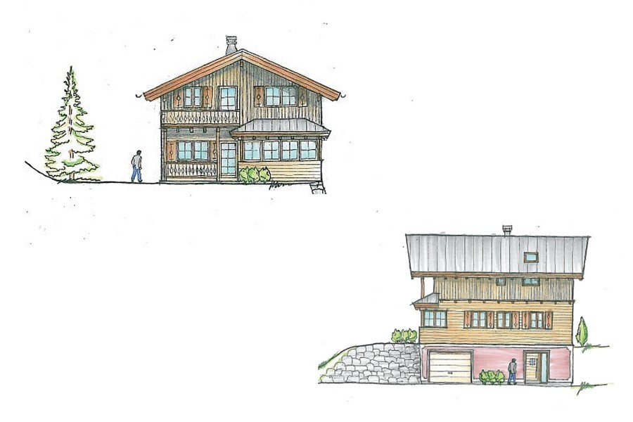 For Sale Three New Build Chalets With 4 Bedrooms In The Traditional Austrian Village Of Russbach Am Pass Gschutt Is One Villages Directly