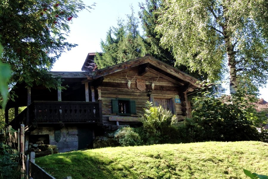 property for sale holiday cottage with stunning views on the hochk nig mountains in embach. Black Bedroom Furniture Sets. Home Design Ideas
