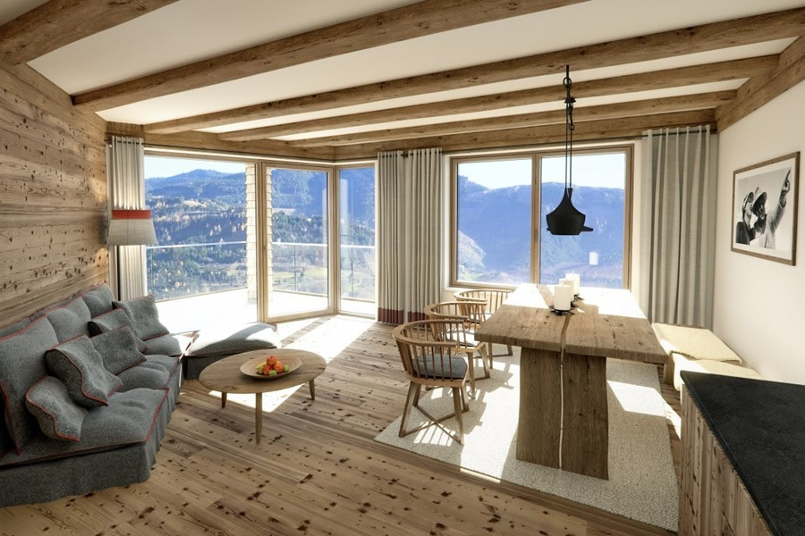 real estate for sale luxurious 2-bedroom apartment with sauna in ...